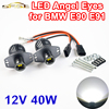2 Pieces 1 Set 2 20W 40W LED Marker Angel Eyes Halo Light High Power CREE
