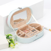 Multi grid Jewellery Storage Box Creative Desktop Storage Box CosmeticsMakeups Holder Small Objects Household Decor Container