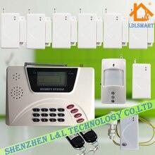 Беспроводная GSM PSTN Охранной Сигнализации Anti-theft Охранной Сигнализации с Английский Голос