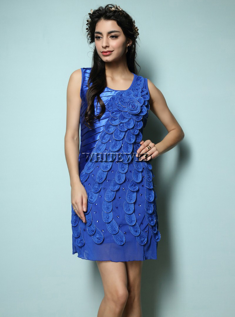 Popular Blue Flapper Dress-Buy Cheap Blue Flapper Dress lots from ...