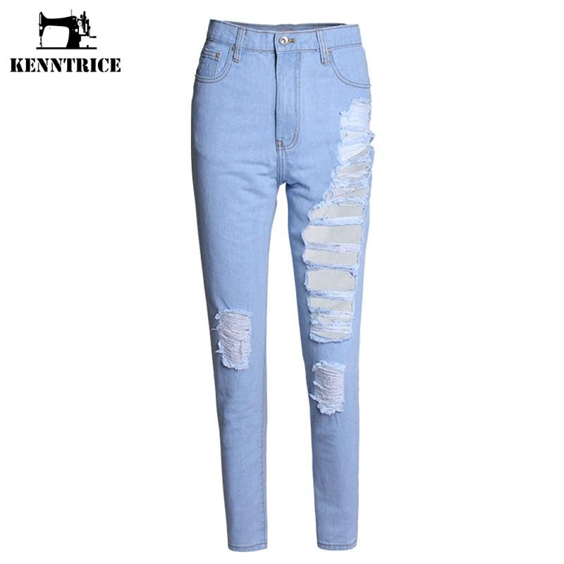 Online Get Cheap High Waisted Boyfriend Jeans -Aliexpress.com ...