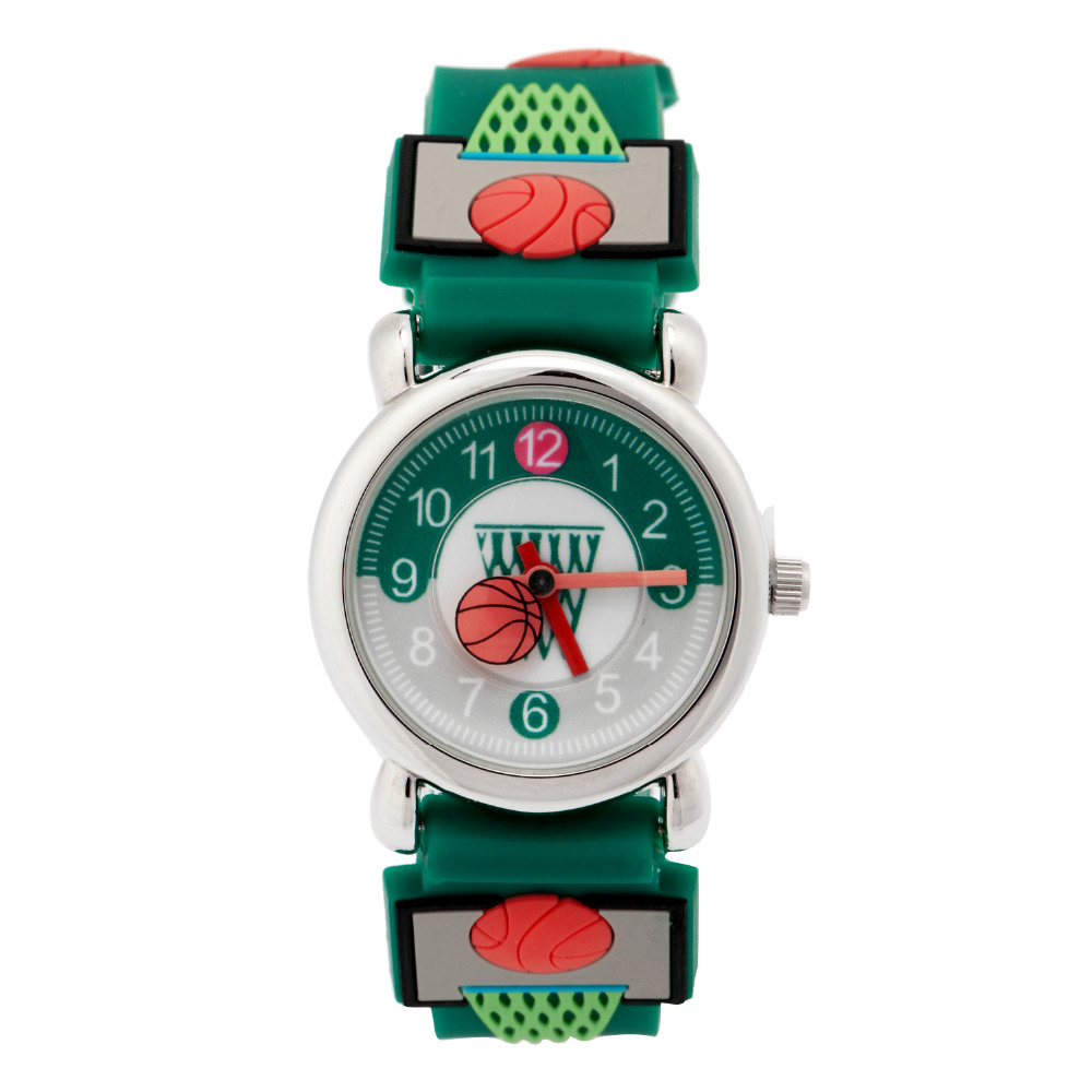 Brand Quartz Wrist WatchFor Girls Boys Waterproof Kid Watches Basketball Children Fashion Casual Reloj
