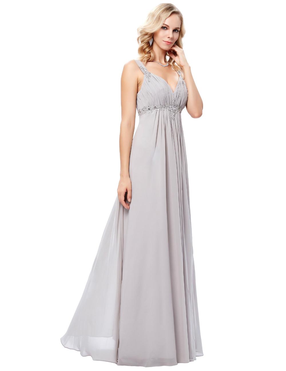 HTB1aYozOFXXXXXoXXXXq6xXFXXXaLong Formal Dress Elegant Floor Length Chiffon Dress