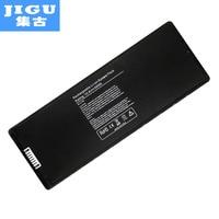 JIGU 교체 실버 노트북 배터리 A1185 애플 맥북 프로 13