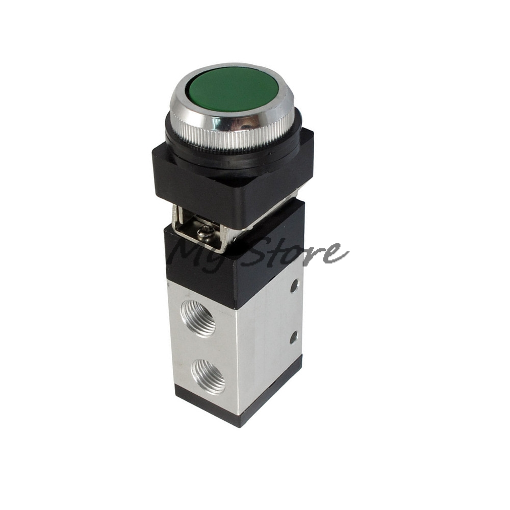 1/4PT Air Inlet 3 Way Two Position Momentary Mechanical Valve MV322PP1/4PT Air Inlet 3 Way Two Position Momentary Mechanical Valve MV322PP