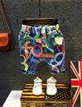 2016 летняя Мода детская Одежда Дети Мальчик Камуфляж Армии джинсовые шорты Брюки Спорт Камуфляж Грузовые Крест Брюки 2-7 Т