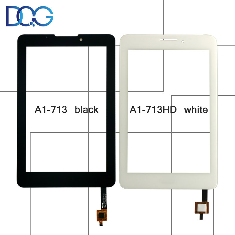 7 Touch Screen For Acer Iconia Tab 7 A1-713 Black A1-713HD White Panel Digitizer Outer Glass Sensor Replacement Parts