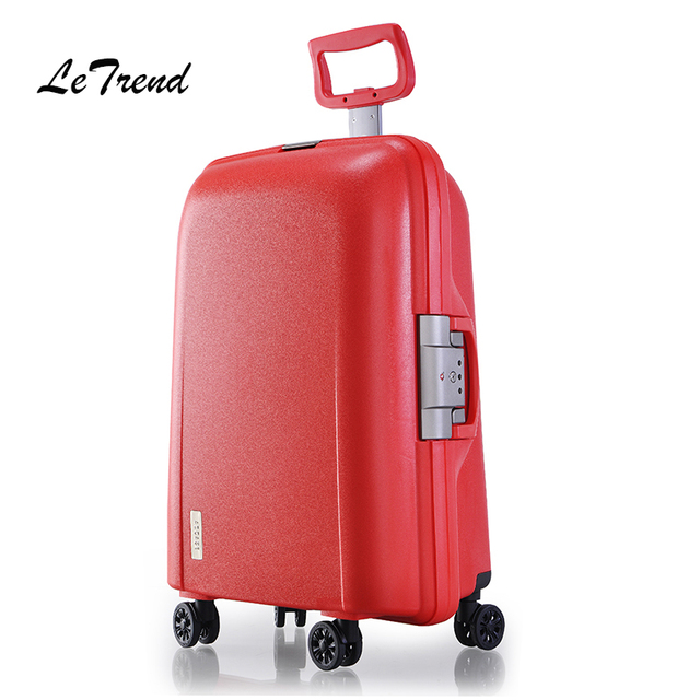 8419d6b2041c1 ... Letrend high quality Women Suitcases Wheel Rolling Luggage Spinner  password Travel Bag 20 inch Trolley Fashion ...