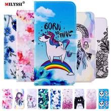 PU Leather Phone Case For Xiaomi Redmi Note 7 Book Style Painted for Pro Flip Cover Fundas Capa
