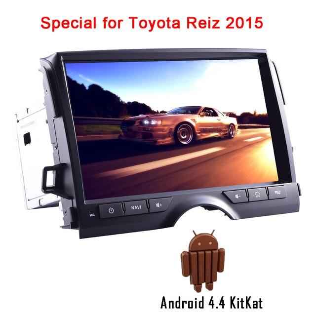 OBD2 Системы плеер Wi-Fi приложение Android 4.4 автомобиль Радио Авто Радио без DVD 1080 P емкостный музыка GPS стерео для Toyota Reiz