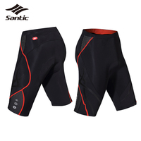 Santic Cycling Shorts Women Summer Style Quick Dry Breathable Padded Shorts MTB Road Bicycle Bike Tights Ladies Clothing S-3XL