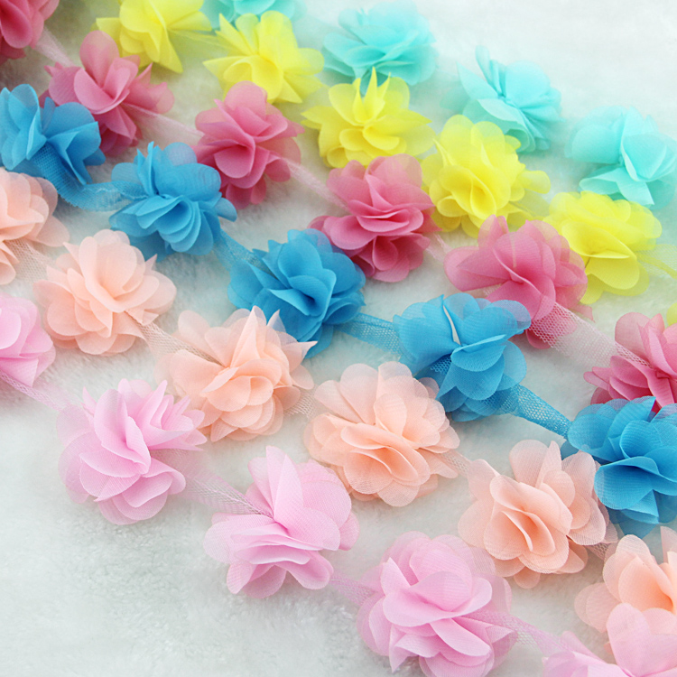 10 oborre / shumë shumëngjyrësh 3D 6 gjethe byrynxhyk Lule - Arte, zanate dhe qepje - Foto 2