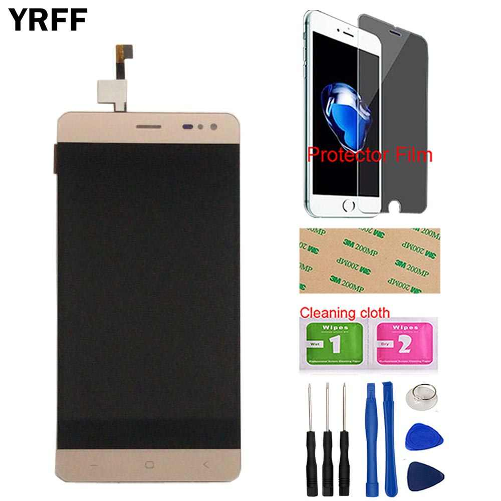 5.5 ''Ponsel Layar LCD untuk Innjoo Max 2 Plus LCD Display dengan Sentuhan Sensor Kaca Perakitan Tape Alat Pelindung film