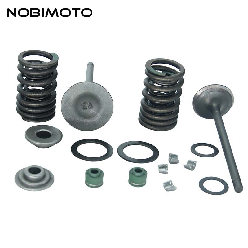 Motorcycle Cylinder Head Assy Kits Full Parts for CG250cc Engine ATV GO Kart Motorcycle GT-166
