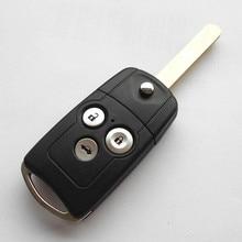 3 Кнопки Автомобилей Дистанционного Ключа для Honda Accord CRV Odyssey CR-V Город 433 МГц ID46 Чип Модельное Нет HLIK-3T