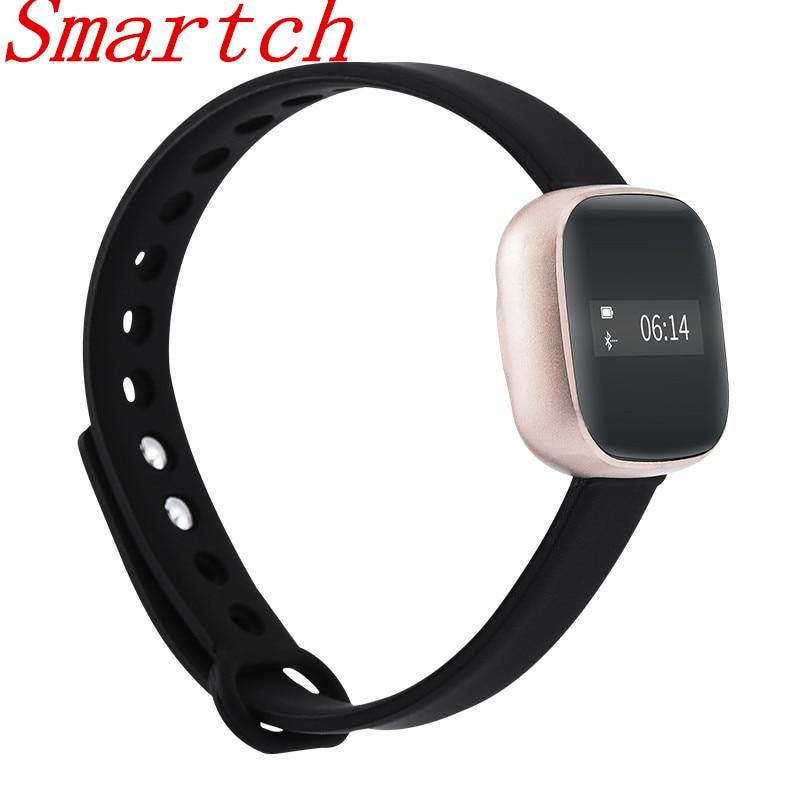 Smartch V8 Smart Bracelet Young Fashion Outdoor Sports Fitness Tracker Step Counter Smart Bracelet Wristband Sports