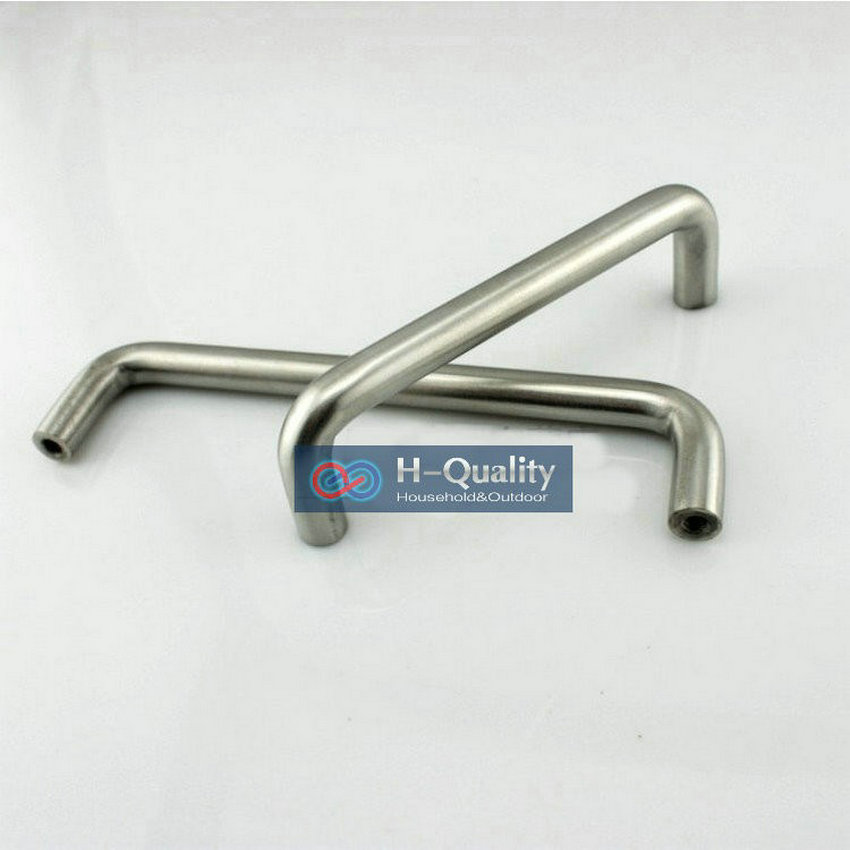 SOLID 5PCS/LOT 192MM Length Stainless Steel Furniture Handle Drawer Knob Cabinet Handle Drawer Pull With Free Screws