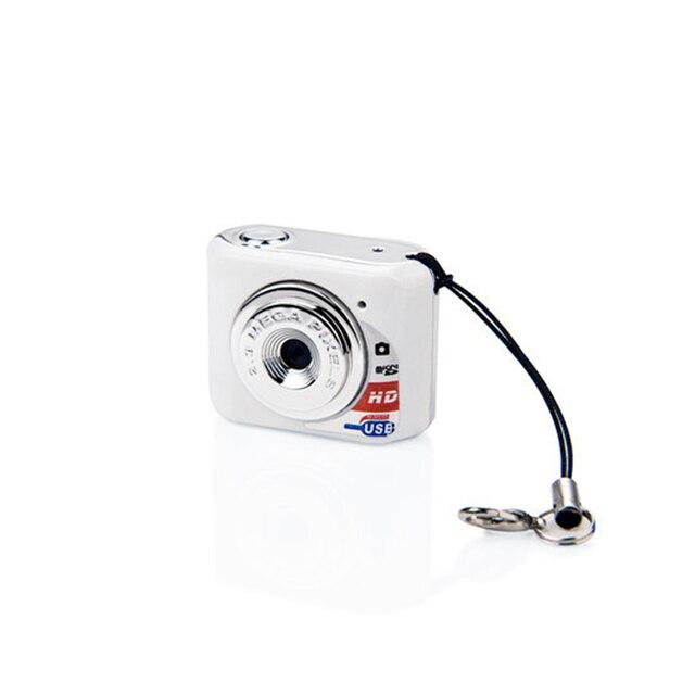 X3 Micro Portable HD Mega Pixel Pocket Video Audio Digital Camera Mini Camcorder 480P DV DVR Driving Recorder Web Cam 720P JPG