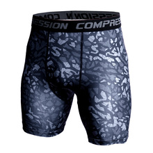 Men Compression Under Layer Short Pants Fashion 3D Print Cam