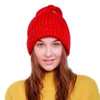 ChamsGend 2017 Hot Sale Women Warm Crochet Winter Wool Knit Ski Beanie Skull Caps Rabbit Ears