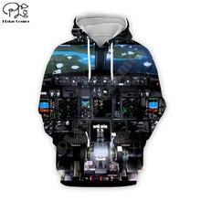 universe spaceship Men 3d Hoodies Unisex airship Print long sleeve Sweatshirts harajuku Pullover Autumn women zipper hooded Top