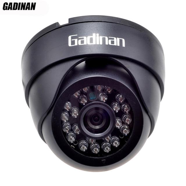 Gadinan 720P 960P H.264 1.0MP/1.3MP 25FPS HD ONVIF 2.0 IP Camera P2P Indoor IR-CUT Night Vision Network Camera
