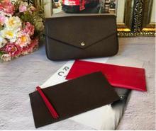 2018 мода европейский и американский ретро-конверты цепь три штуки Женская Ручная сумка все-матч простая ручная Одиночная сумка на плечо