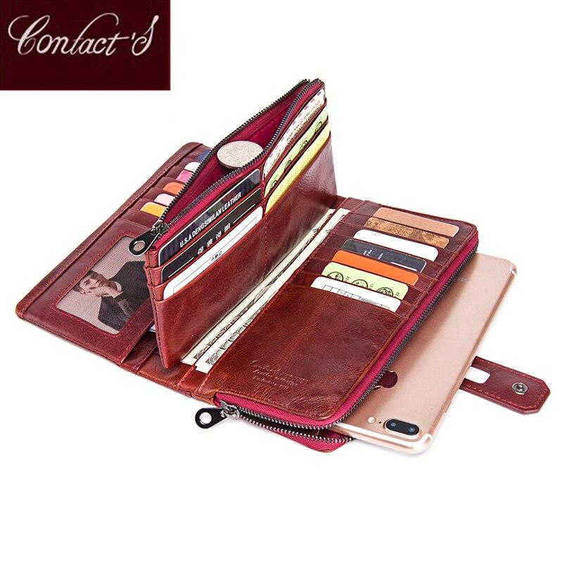 Genuine Leather Women Wallets