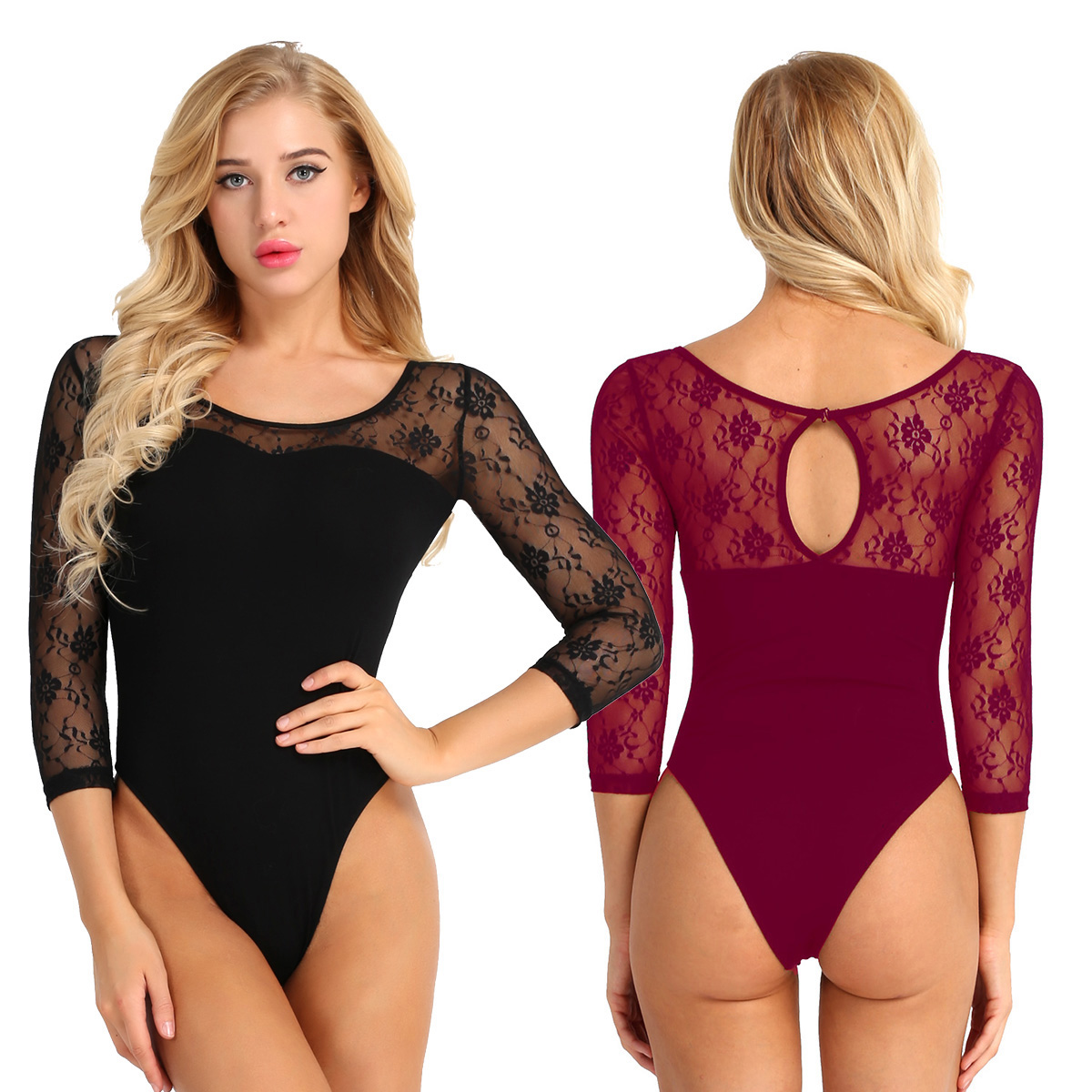 Luggage & Bags Careful Women Adult One-piece Swimsuits Sleeveless Round Neck Front Zipper Racerback Stretch Solid Leotard Bodysuit Beach Bathing Suits Easy To Use