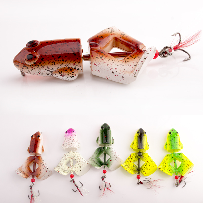 1pc new Frog Fishing Baits Fishing Lures Bass CrankBait Tackle 12g fishing tackle free shipping