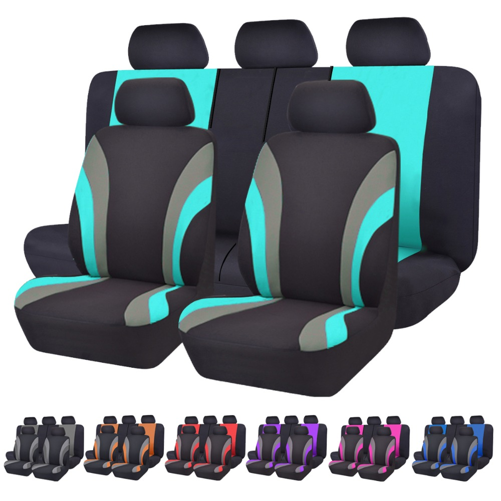 Car-pass Automobiles Universal Seven Color Car Seat Cover Car-Styling Seat Covers Fit Interior Accessories Seat Decoration