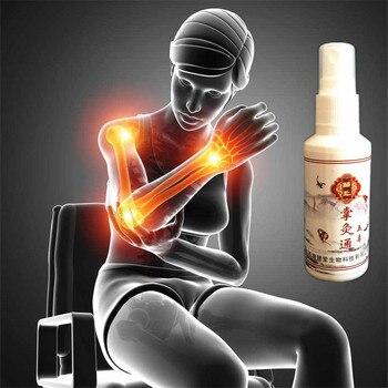 MIYUELENI 100% Gold Scorpion Venom Essential Oil Spray Far infrared Heating Analgesic Patches Fast Relieve pain liquid 85ml