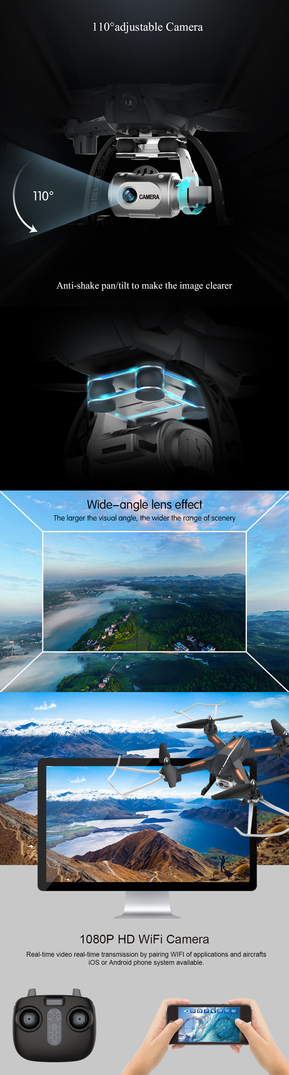 FPV Drone With Camera HD Wide Angle 1080P-1 (2)