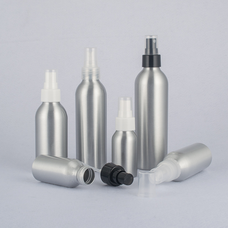 40ml-250ml Aluminum Mist Spray Bottle,Cosmetic Water Bottle With Smooth Nozzle