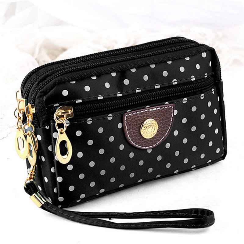 Women's Wallet 2019 New Canvas Lady Zipper Wallet Clutch Key Phone Money Bag Card Holder Porte Female Coin Purses Monnaie Femme