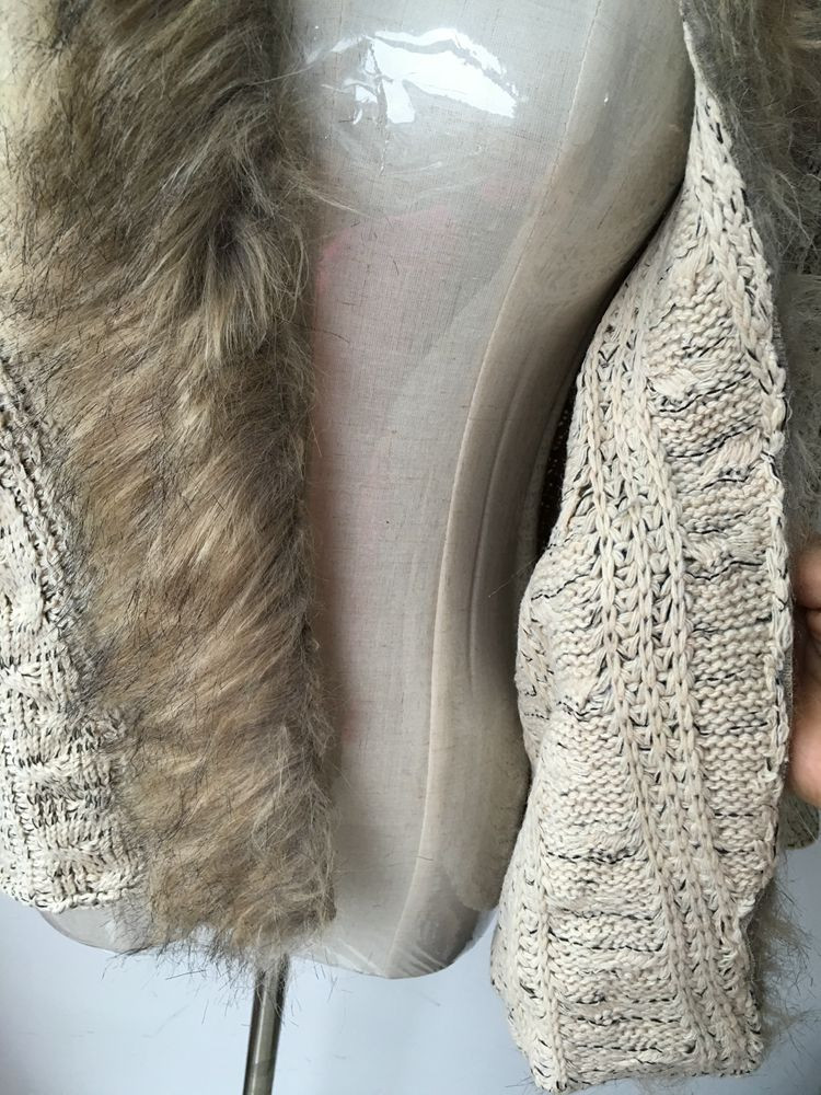 lady spring autumn sweater with fur (6)