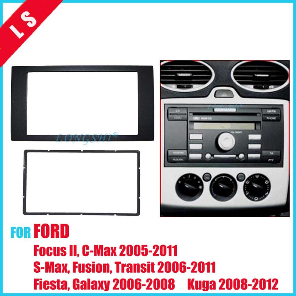 Ford Kuga stereo radio Facia Fascia adapter panel plate trim CD surround