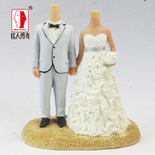 Wedding Gift Wedding Cake Topper Personalized Custom real doll custom clay dolls fixed resin body SR059