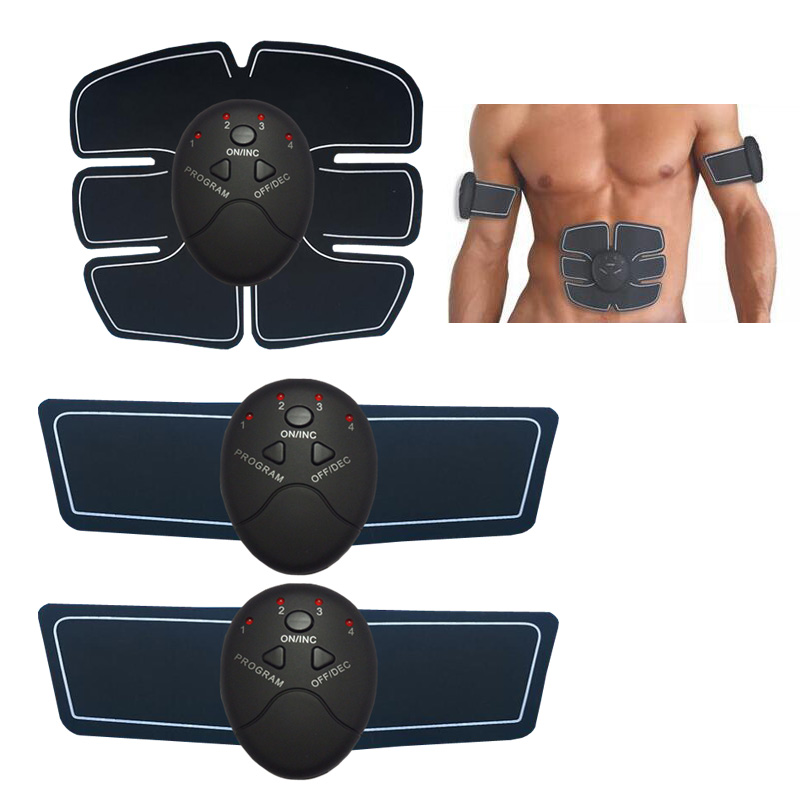 цена на New home fitness abdomen instrument massager exercise muscle training instrument abdominal arms body massager