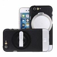 4 в 1 телефото широкоугольный объектив + макро комплект защитная крышка объектива Набор для iPhone 6 6 S 6 plus 6splus Съемный широкоугольный объектив