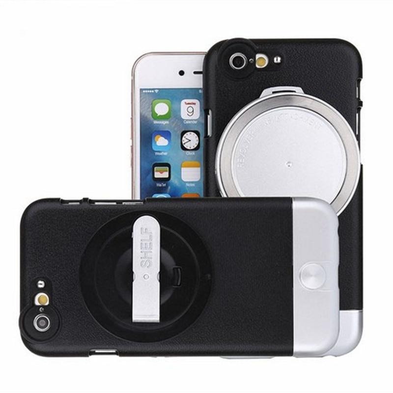 imágenes para 4 en 1 lente teleobjetivo De gran angular + macro conjunto cubierta Protectora sistema de la lente para el iphone 6 6 s 6 más 6 splus Extraíble lente gran angular