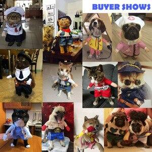 Image 5 - Costumes drôles de chien et chat, Costume de Cosplay pour médecin et infirmière, tenue dhalloween pour chiot et chat
