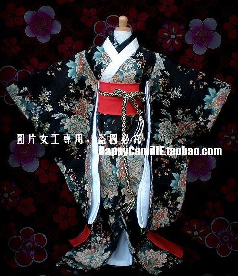 1/4 1/3 scale BJD doll clothing Japanese kimono for BJD SD MSD accessory.Not included doll,shoes,wig and other 17C3415 1 3rd scale 65cm bjd nude doll bazael bjd sd doll boy with face up not included clothes wig shoes and accessories