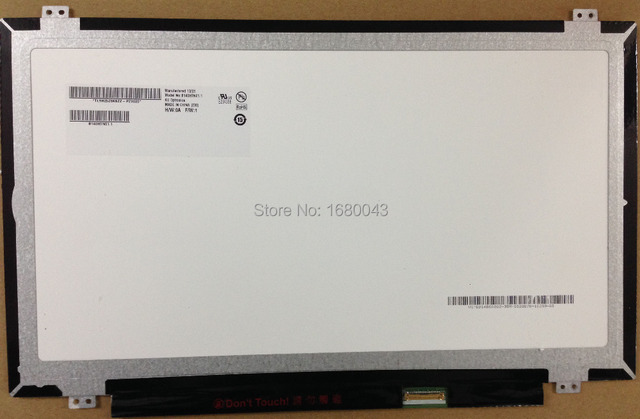 Free shipping B140HTN01.1 B140HAN01.2 B140HTN01.2 B140HTN01 Laptop LCD LED Screen 1920*1080  LCD Laptop LED Display Screen