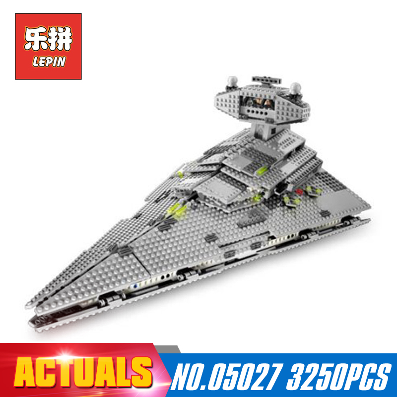 Star Classic Wars 3250pcs Lepin 05027 Emperor Fighters Starship Building Kit Blocks Bricks Assembling Toy Model LegoINGlys 10030 lepin 05035 star wars death star limited edition model building kit millenniums blocks puzzle compatible legoed 75159