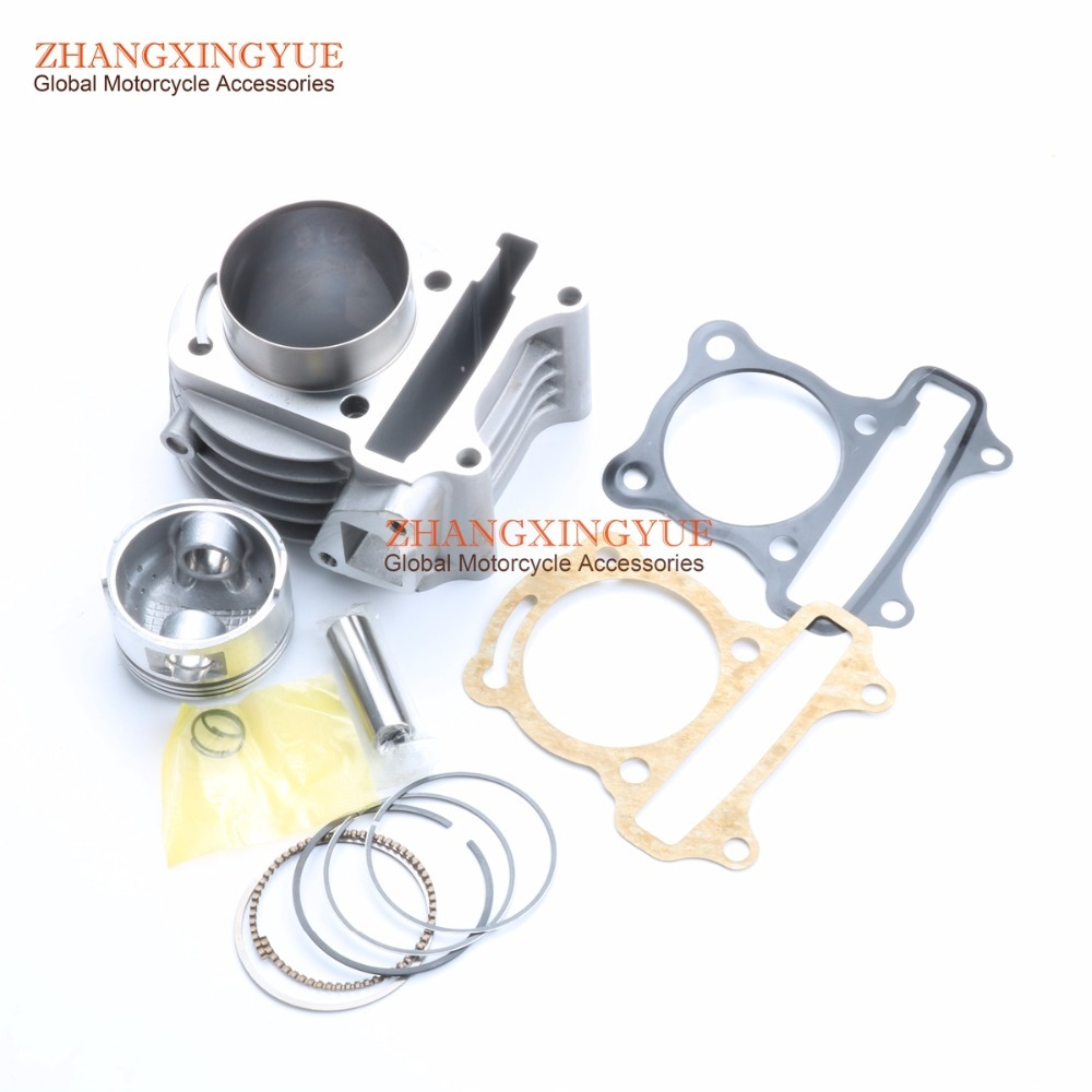 52mm 105cc Big Bore Performance Kit for KYMCO Agility 50 R10 R12 R16 Super 8 50