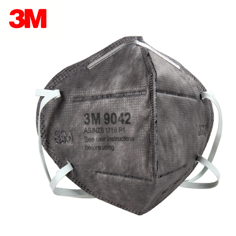 3M 9042 Dust Mask KN90 Anti Organic Vapor Odor and Particle Respirator Activeted Carbon Masks For