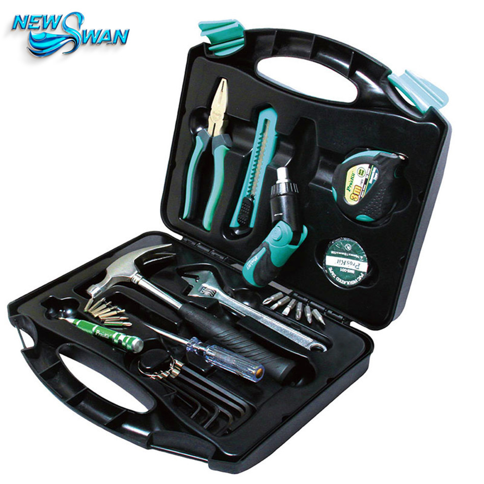 30PCS General Household Tool Kit Combination Electrician Hand Tool Set Electronic Repair Multi Tool Box