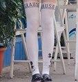 Ansatsu Kyoushitsu Cosplay Tights Anime Assassination Classroom Cos Women Korosensei Patchwork White Pantyhose Stockings