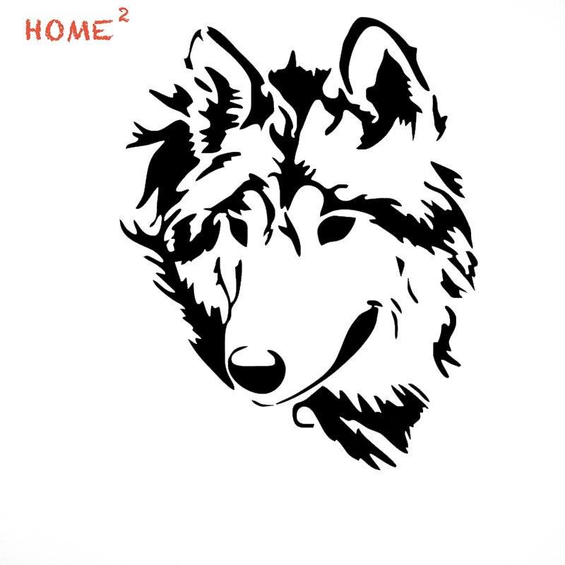 13*16.5cm Car Styling Wolf Car Sticker For LADA granta